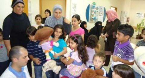 مركز الطفل التابع لكلاليت في الطيبة يعج بالدببة